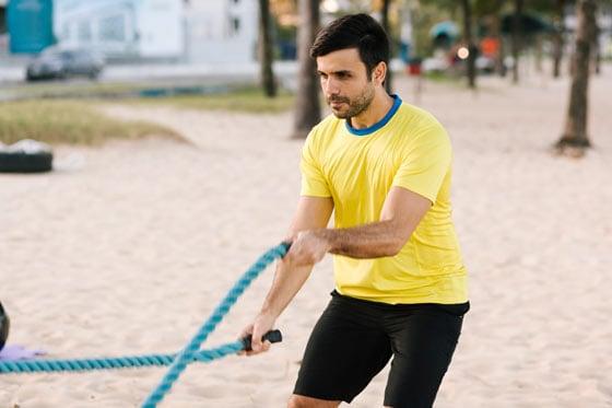 Beach Rope Training
