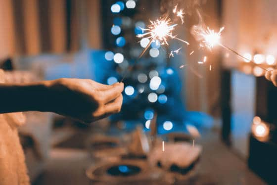 Christmas sparkles
