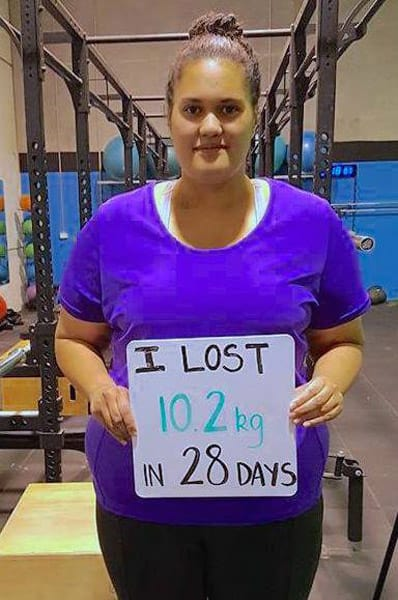Lost 10.2kgs in 28 days