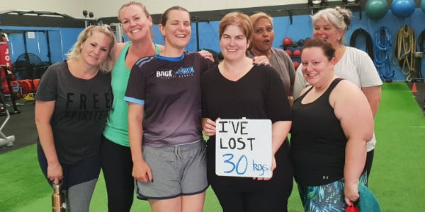Michelle lost 30kgs